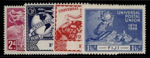 FIJI GVI SG272-275, anniversary of UPU set, M MINT.