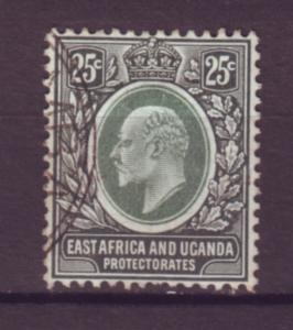 J20967 Jlstamps 1907-8 E.africa & uganda proct used #37 king
