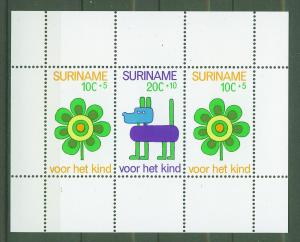 SURINAM/SURINAME 1973 MNH SC.B198+B200 Child Welfare