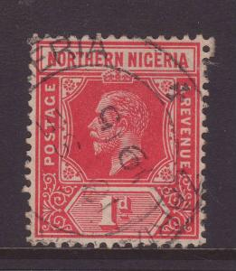 1912 Northern Nigeria 1d Fine Used – Late Use SG41.