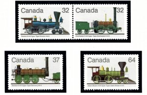 Canada 1000a-02 MNH 1983 Locomotives    (ap3385)
