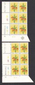 SOUTH AFRICA SC# 409  CONTROL B/6  CYLINDER #656-59  PANE A&B #3  FVF/MNH  1975