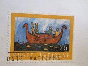 Vatican #551 used  2021 SCV = $0.25