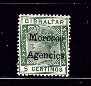 Great Britain-Morocco #1 MNH 1898 overprint