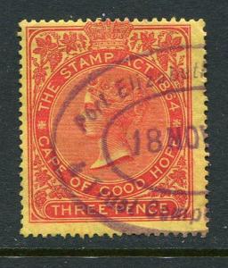 Cape Of Good Hope Stamp Duty Revenue 3p