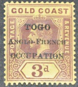 DYNAMITE Stamps: Togo Scott #84  – MINT hr
