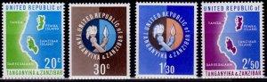 Tanganyika & Zanzibar, 1964, United Republic, MNH