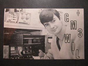 5398 Amateur Radio QSL Card AYR Scotland