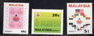 Malaysia Scott 326-328 MNH** stamp set