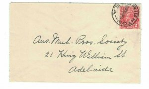 APH1468) Australia 1931 2d Red KGV Die I Small Cover