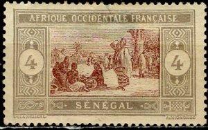 Senegal; 1914: Sc. # 91: *-/MHH Single Stamp