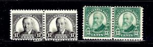 U.S. 622-23 MHH in pairs