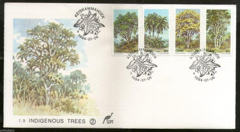 Ciskei 1984 Indigenous Trees Plant Flora Environment Conservation FDC # 16315
