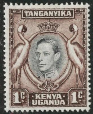 Kenya Uganda and Tanganyika KUT Scott 66 MH*