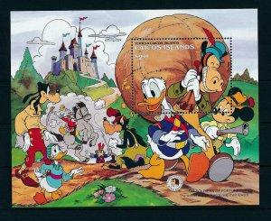 [22181] Caicos Islands 1985 Disney 200th Birthday Brothers Grimm MNH