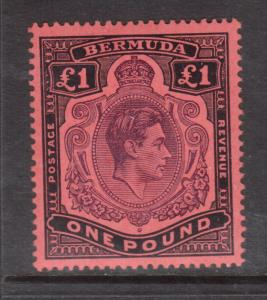 Bermuda #128b Very Fine Never Hinged