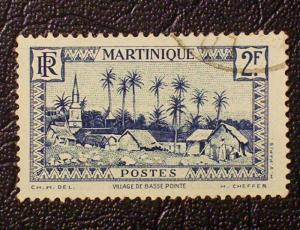 Martinique Scott #166 used