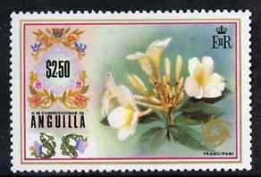 Anguilla 1972-75 Frangipani $2.50 from def set, SG 143 un...