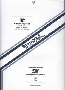 SHOWGARD BLACK MOUNTS 264/167 (5) RETAIL PRICE $14.95