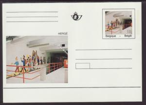 Belgium MI P491 Postal Card Unused VF