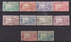 New Hebrides the 1941 France Libre set mainly MNG