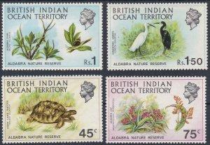 British Indian Ocean Territory 1971 Aldabra Nature Reserve MNH CV £21.00