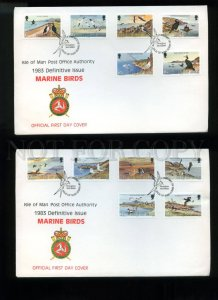 161465 ISLE OF MAN 1983 Marine Birds FDC cover