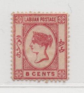 Malaya Labuan - 1880-82 - SG7 - 8c - MH #672