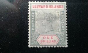Leeward Isl #7 mint hinged e199.5252
