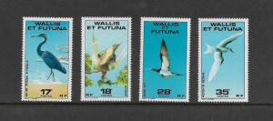 BIRDS - WALLIS and FUTUNA #214-17  MNH