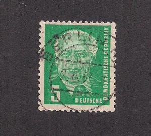 GERMANY - DDR SC# 113 F-VF U 1952