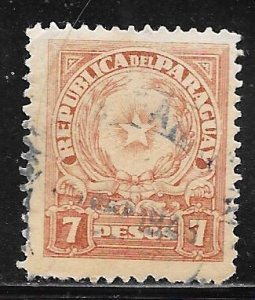 Paraguay 394: 7p Coats of Arms, used, F-VF