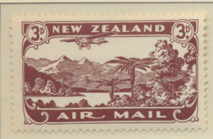 New Zealand Stamp Scott #C1, Mint Hinged - Free U.S. Shipping, Free Worldwide...