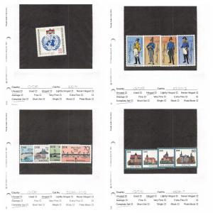 Lot of 98 Germany DDR MH Mint Hinged Stamps Range # 2500 - 2852 #141466 X R