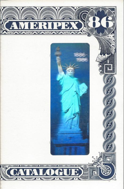 AMERIPEX 1986, Stamp Expo Catalog