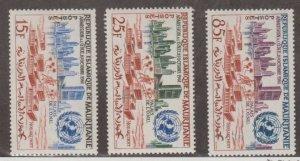 Mauritania Scott #167-168-169 Stamps - Mint NH Set
