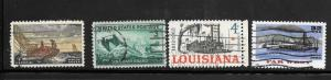 #Z688 Used Ships 10 Cent Lot . No per item S/H fees.