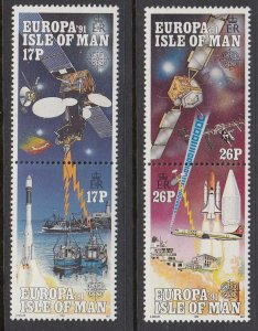 Isle of Man 468-71 Europa mnh