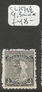New Zealand SG 217 MNH (6cpr)