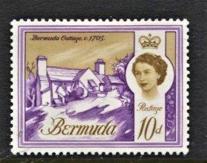 STAMP STATION PERTH Bermuda #182A QEII Definitive Issue MLH CV$8.75