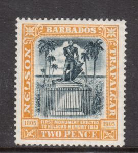 Barbados #111 Very Fine Mint Original Gum Hinged