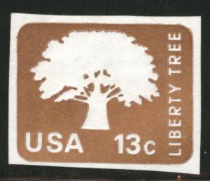 US Envelope cut square Scott U576 Liberty Tree
