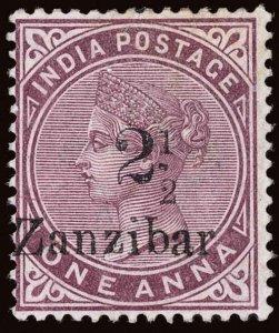 Zanzibar Scott 20H Gibbons 25H Mint Stamp