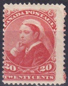 Canada #46 MNH  CV $425.00  (Z2685)