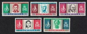 Dominica John Kennedy Dr. Schweitzer Human Rights Year 5v SG#209-213