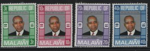 MALAWI, 285-288, (4) SET,  MNH, 1976, 10th anniv. of the republic