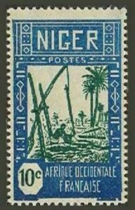 Niger 34 block/4,MNH.Michel 33 French Niger. Drawing water from well,1926.
