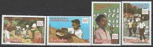 Barbados 543-6  MNH  Year of Disabled