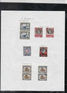 kenya uganda + tanganyika 1938-54 stamps study ref 18484