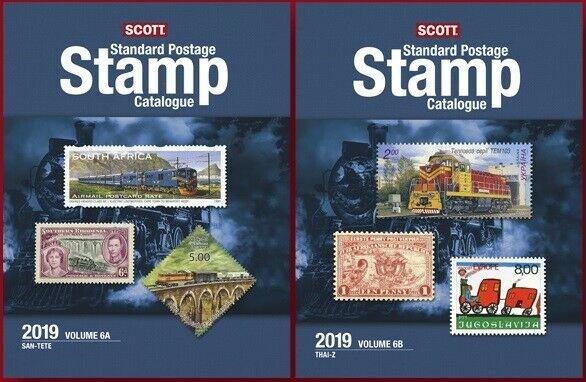 2019 Scott Standard Postage Stamp Catalogue, Volume 6 (Countries SAN-Z)